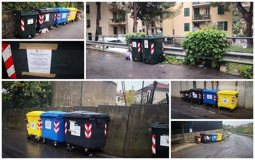 Sanremo: cassonetti di prossimità con chiavi nell'ultima zona 'franca' per la differenziata, ecco le istruzioni per i residenti