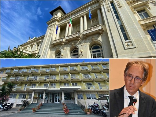 Il sindaco di Sanremo Alberto Biancheri