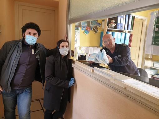 Comitato Sbarco dei Saraceni di Vallecrosia: donate mascherine alle organizzazioni più esposte della città