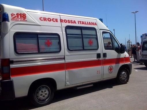 Diano Marina, scontro auto-bici: ferito ciclista. Intervento di Carabinieri e Croce rossa