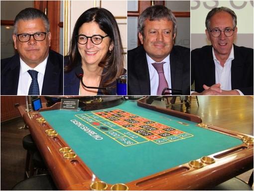 Da sin. Giancarlo Prestinoni, Elvira Lombardi, Massimo Calvi e Alberto Biancheri