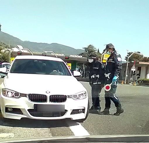Sanremo: mattinata di controlli alle uscite autostradali, per ora non si registra nessun 'furbetto'