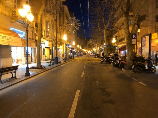 Sanremo: riaperta nel pomeriggio corso Garibaldi dopo la chiusura di questa mattina (Foto)