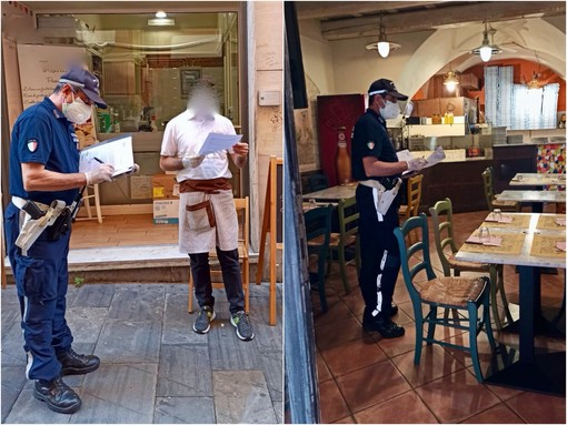 I controlli della Polizia Municipale a Sanremo