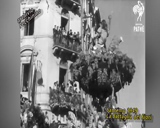 Battaglia dei Fiori 1949-1955 e 1959: riviviamo alcuni momenti storici dell'evento