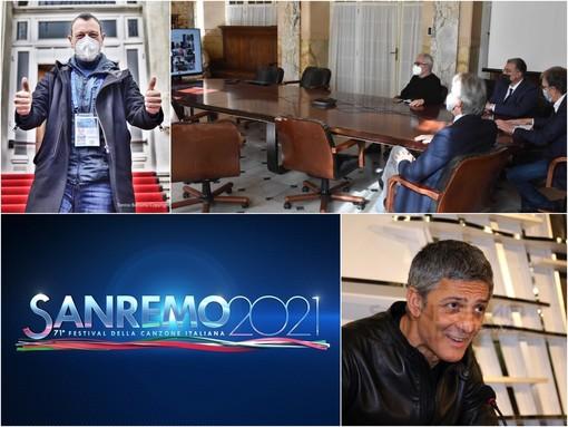 """Il 71° Festival di Sanremo si presenta in streaming, Amadeus: """"Momento di spensieratezza per milioni di famiglie"""" (Video)"""