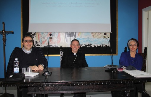 Sanremo: vigilia di San Valentino, la Diocesi presenta i dati dei corsi di preparazione al matrimonio
