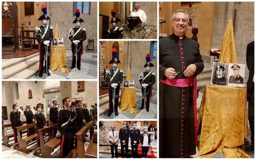 Sanremo: celebrata a San Siro la Messa a suffragio di Salvo D'Acquisto, presenti le autorità (Foto)