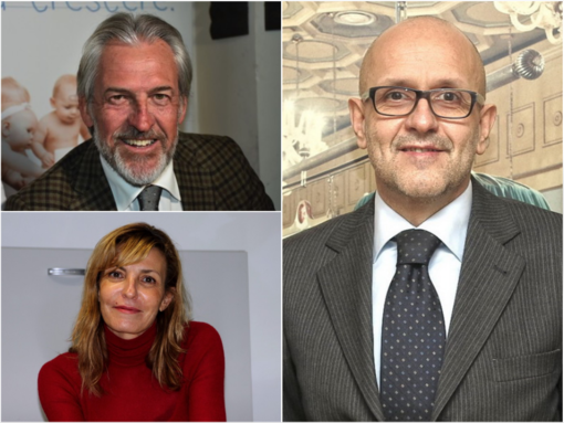 Giancarlo Ghinamo, Adriano Battistotti e Barbara Biale