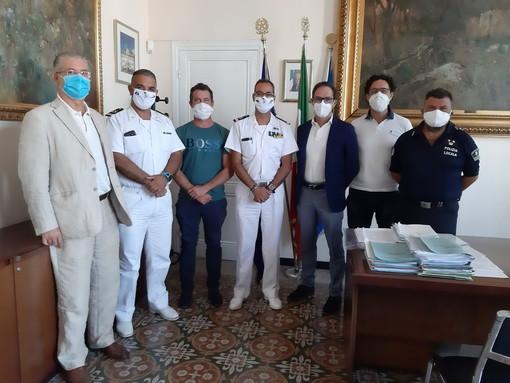 Bordighera: cambio della guardia alla Delegazione di Spiaggia, arriva il Maresciallo Simone Augusto Barillari