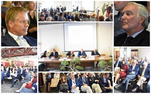 """Ventimiglia: al Forte dell'Annunziata il convegno sulla comunicazione tra i porti della nostra costa, Scullino """"Creiamo l'autostrada del mare"""" (Foto e Video)"""