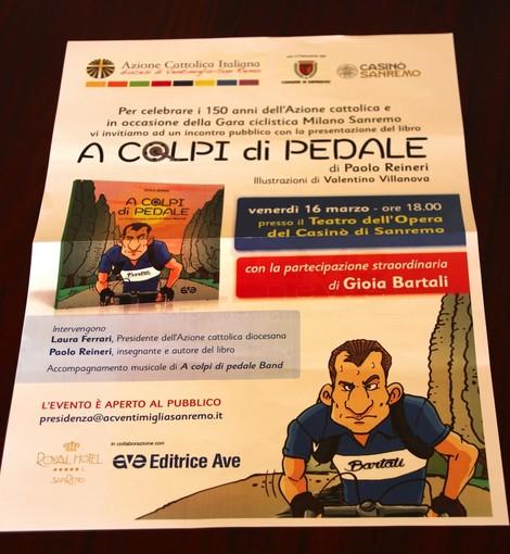 'A colpi di pedale': la straordinaria storia di Gino Bartali in un libro realizzato in occasione della Milano-Sanremo