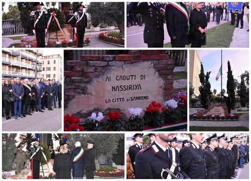 Sanremo: oggi pomeriggio le celebrazioni in ricordo dei caduti di Nassiriya nel 16° anniversario (Foto e Video)