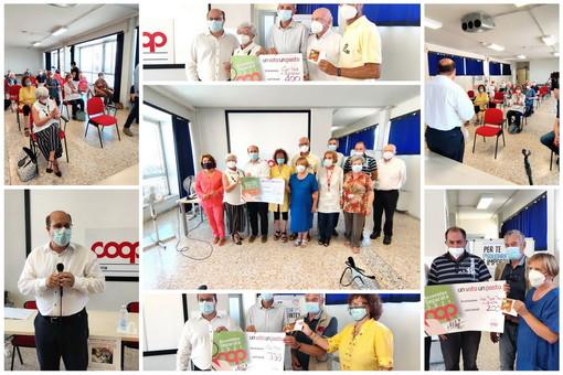 Dai soci di Coop Liguria 9.000 pasti alle associazioni del territorio: 1.000 consegnati nell'imperiese (Foto e Video)