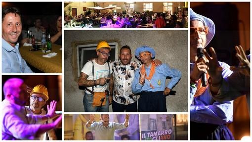 Badalucco: in tanti ieri sera (compreso il Sindaco Orengo) per lo spettacolo 'Colorado on the road'