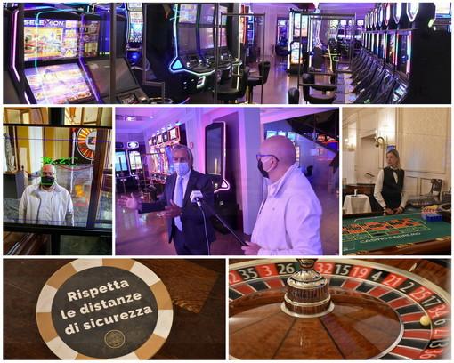 Le immagini dall'interno del Casinò di Sanremo