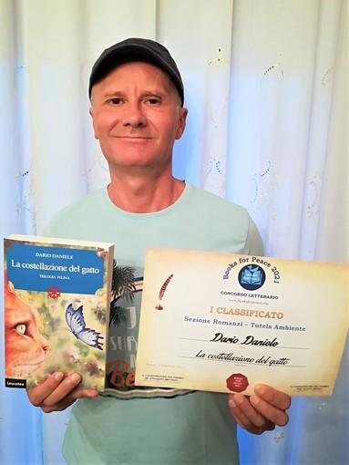 """Sanremo: lo scrittore Dario Daniele conquista il premio letterario internazionale """"Books for peace"""""""