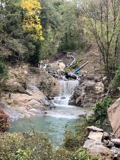 Castelvittorio: danni del maltempo anche ai laghetti del rio Gordale (Foto)