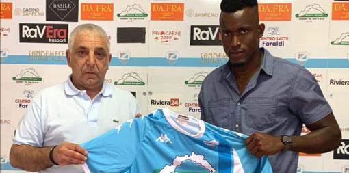 """Calciomercato Serie D. Sanremese, UFFICIALE l'attaccante Cherif Diallo: """"Questo è un nuovo inizio"""""""