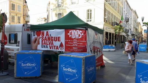 Sanremo: donazione sangue, domani in piazza Colombo la Fidas collabora a 'Match it now'
