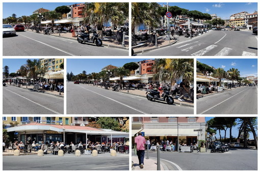 Sanremo: locali strapieni in questo primo weekend con alte temperature, buoni affari per bar e ristoranti (Foto)