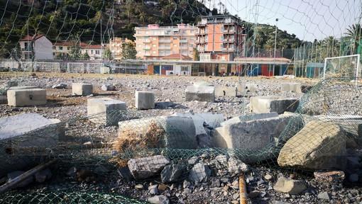 Bordighera: dopo il maltempo l'Arziglia non avrà più il campo da calcio, si valuta la concessione dell'area ad altre associazioni sportive, tra i primi a farne richiesta il Tiro con l'arco di Ventimiglia