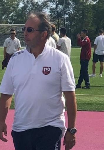 Diego Bevilacqua, allenatore del Ventimiglia Juniores