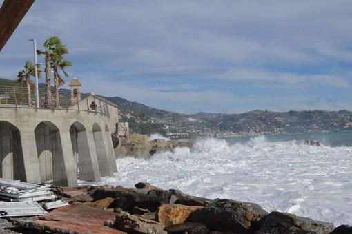 Bordighera: approvato lo studio di fattibilità per la ricostruzione delle spiagge e delle opere a difesa del mare, servono 19 milioni