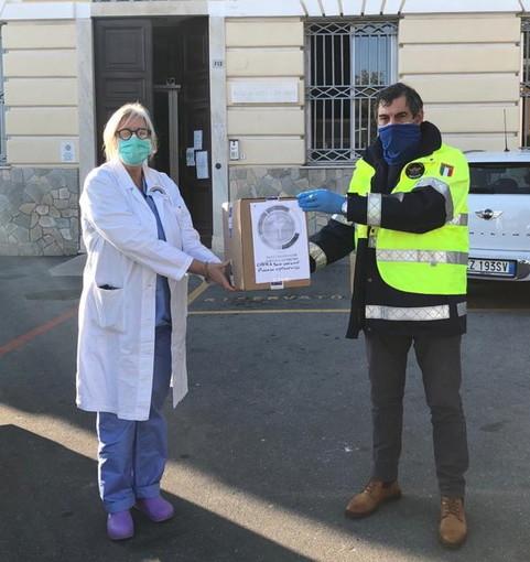 Il Panathlon Club di Imperia e Sanremo ha donato 1.000 mascherine ad una serie di case di riposo