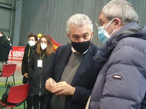 """Arcuri a Genova: """"Vaccini unico sistema per tornare alla normalità, stiamo reclamando con i produttori per i ritardi"""""""