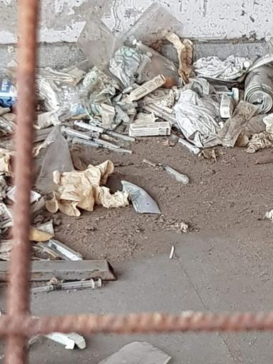 Sanremo: situazione di degrado nella zona del mercato, la segnalazione da Forza Nuova (Foto)