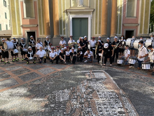 Gemellaggio nell'ultimo weekend tra la DrumLine-Rovellasca e la West Coast Drumline Ventimiglia (Video)