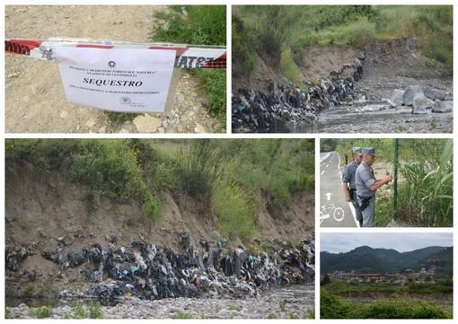 Camporosso: discarica in regione Canei, sarà realizzata una 'scogliera' per proteggere la sponda del Nervia e scongiurare ogni possibilità di inquinamento dell'acqua