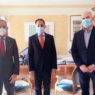 Liguria, Di Muro (Lega): incontro con ambasciatore italiano a Monaco su rapporti transfrontalieri