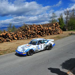 Da Zanche-De Luis (Foto Magnano). Sotto le immagini del Rally storico di Tonino Bonomo