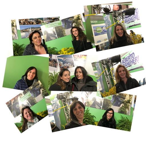 Grande soddisfazione per la giornata di ascolto che le donne di Sanremo al Centro hanno dedicato ieri alle sanremesi, presso il point di Alberto Biancheri