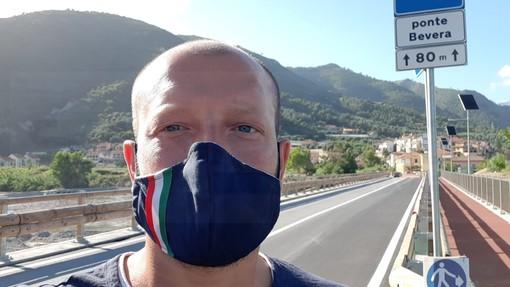 """Ventimiglia: Enrico Ioculano """"Oggi si inaugura ufficialmente il ponte di Bevera dopo un lungo e difficile percorso"""""""