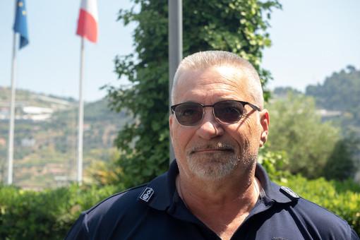 Enrico Borgoglio, comandante della Polizia Locale di Taggia.