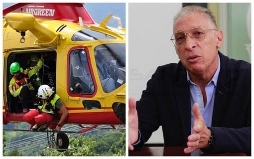 """Sanità: molti interventi dell'elicottero 'Grifo' nei primi giorni di servizio, Ferlito """"Velocizzati i soccorsi anche nelle zone più lontane"""""""