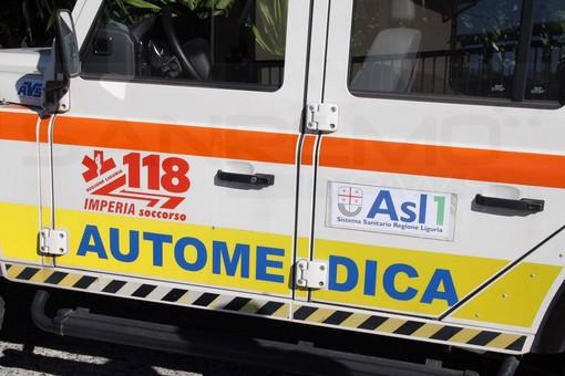 Sanremo: milite della Croce Rossa in gravi condizioni al 'Santa Corona' dopo un incidente in via Roma