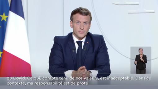 Da venerdì in Francia torna il lockdown: negozi chiusi e spostamenti solo per necessità, aperte le scuole e la frontiera (Video)