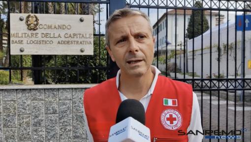 Sanremo: sono 121 i rifugiati in arrivo alla base logistica, intervista al presidente della Cri Ettore Guazzoni (Video)