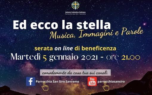 Sanremo: domani alle 21 una serata di beneficienza on line con l'Azione Cattolica di San Siro