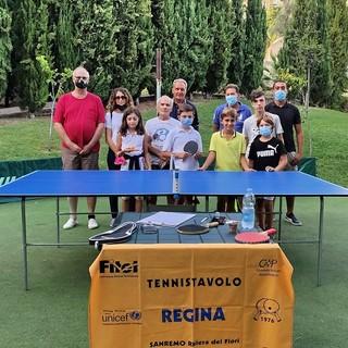 Tennistavolo Regina dalle spiagge armesi ai giardini sanremesi, il Consigliere Moreno fa visita al Ping Pong Point (Foto)