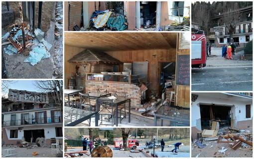 Nava: è stata probabilmente una fuga di gas la causa dell'esplosione alla pizzeria 'Ai Forti', sei persone sfollate (Foto e Video)