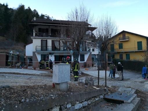 Nava: esplosione di ieri alla pizzeria 'Ai Forti', questa mattina sopralluogo del magistrato per la verifica delle cause (Foto)