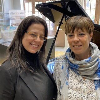 Da sinistra: Erica Martini e Liliana Di Falco