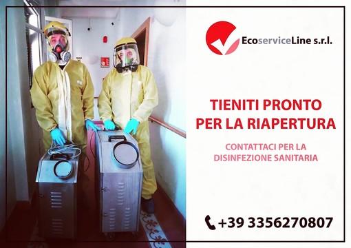 Stop al contagio! Ecoservice Line, in vostro aiuto contro il Coronavirus