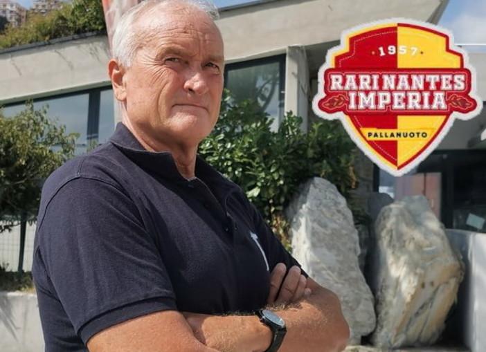 Pallanuoto: Enrico Gerbò è il nuovo allenatore della prima squadra femminile della Rari Nantes Imperia