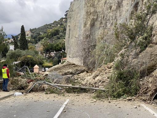 Ventimiglia: frana di gennaio in corso Toscanini, servono 500mila euro che arriveranno dalla Regione
